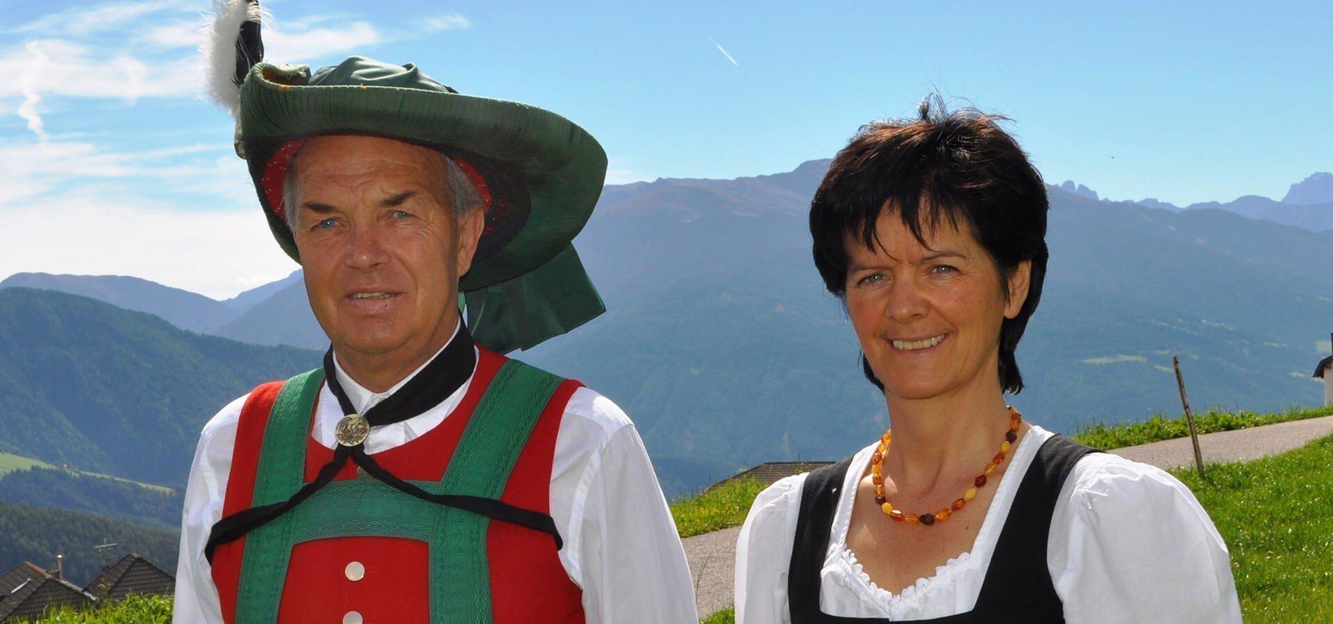 Gastgeber | Helga & Luis Fischnaller