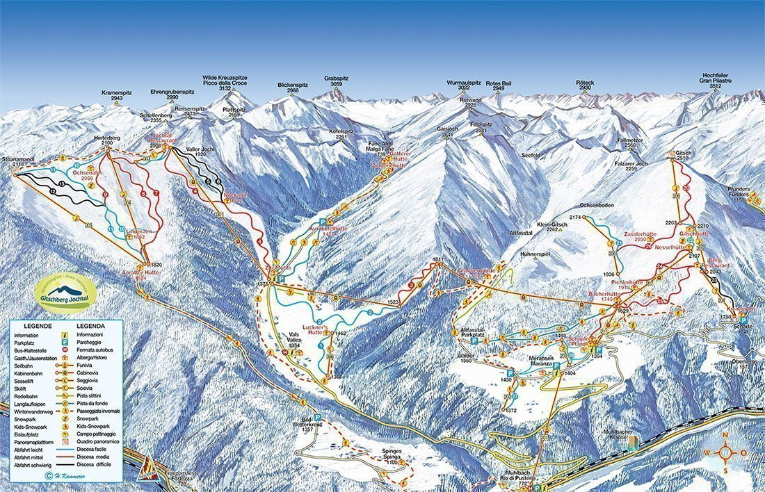Slope Plan Gitschberg Jochtal