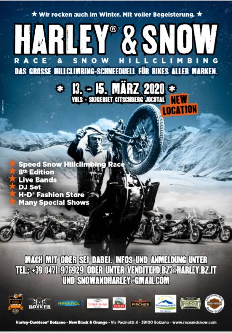 Harley and Snow 3. bis zum 15. März 2020