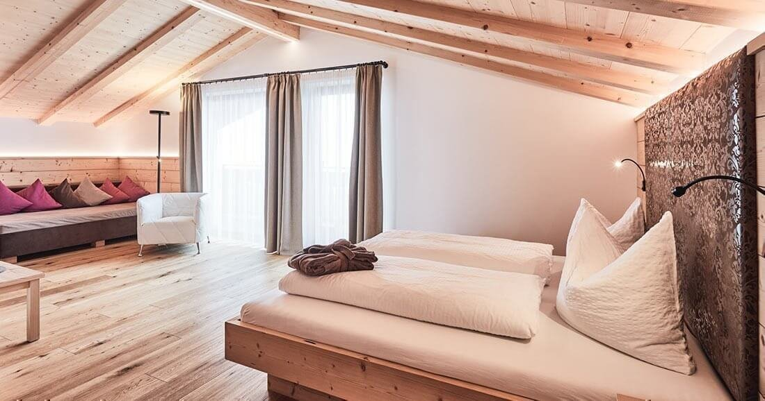 Hotel rooms in Maranza | Holidays in South Tyrol in Valle Isarco