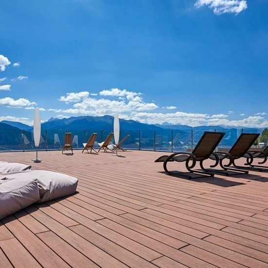 Impressions of Hotel Kristall in Maranza South Tyrol during summertel Kristall in Mersansen Südtirol
