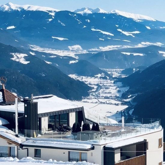 Impressions of Hotel Kristall in Maranza South Tyrol during winter
