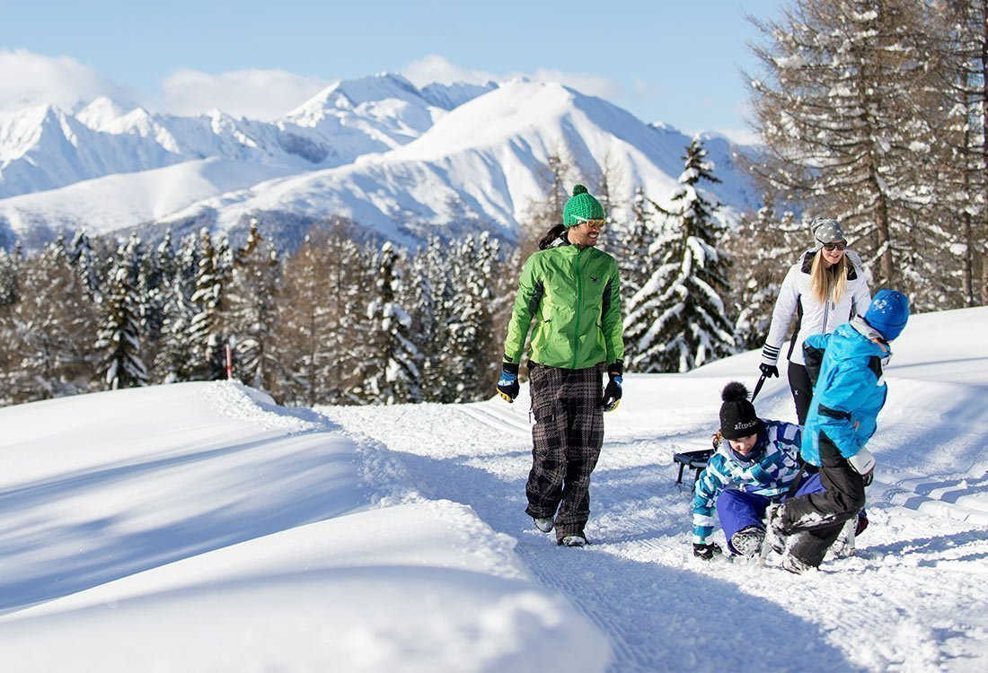 Maranza - sun-drenched ski holiday for winter sports enthusiasts and families