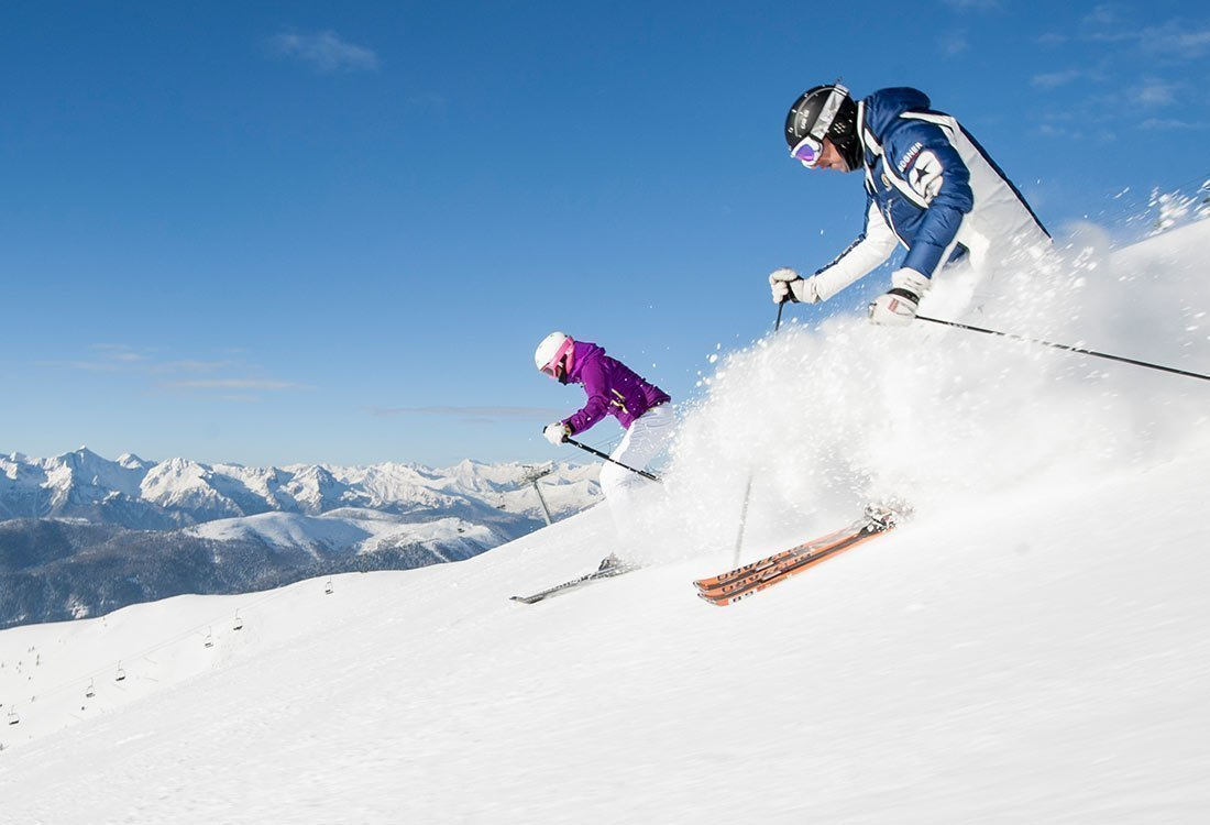 Skiing, sledding, hiking - Winter holidays in South Tyrol