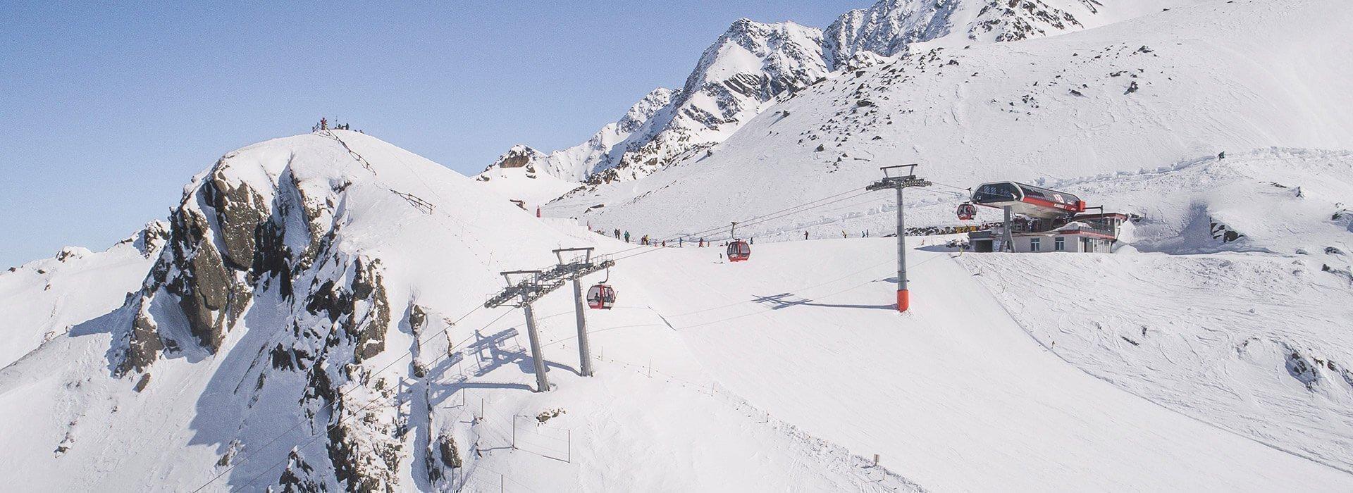 Souty Tyrol ski areas - Klausberg