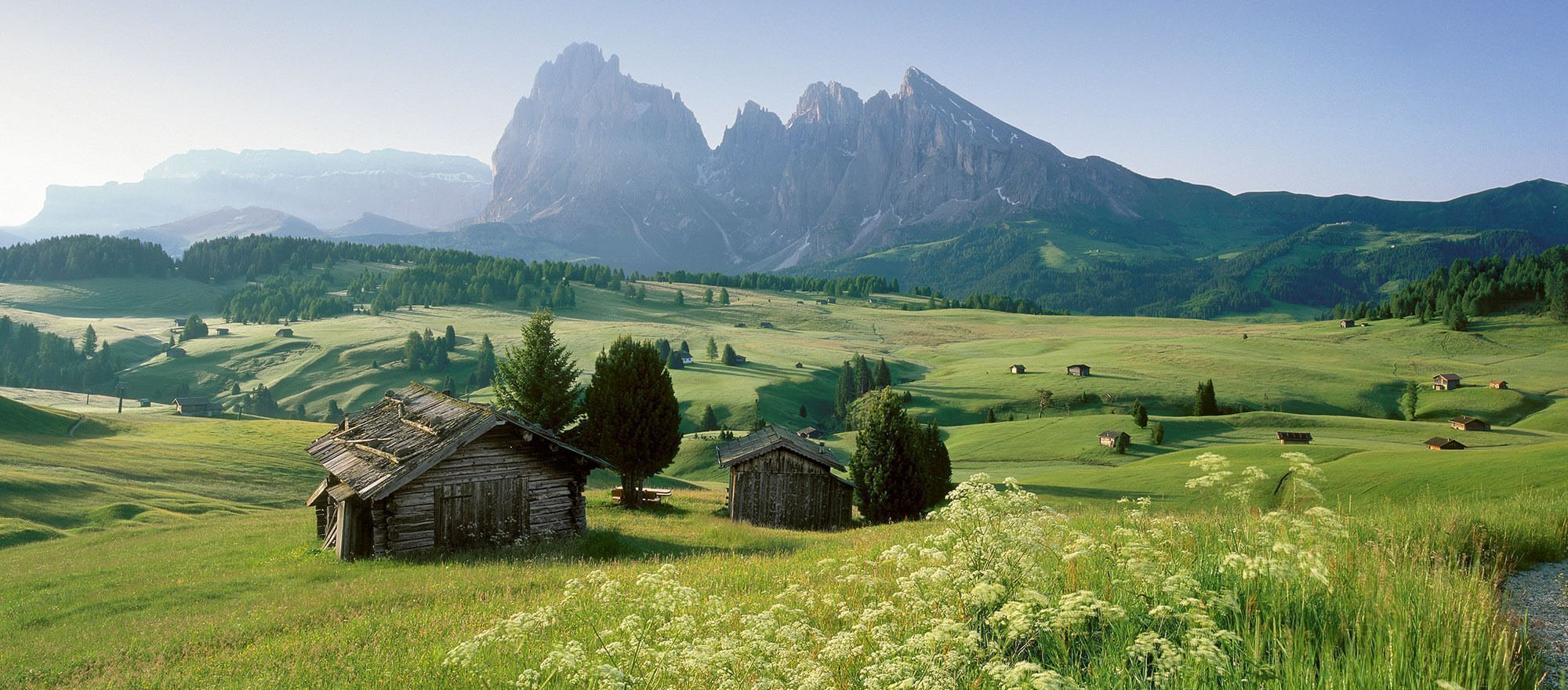 South Tyrol's alpine huts