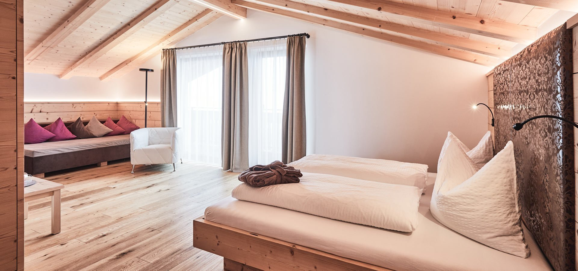 Allogio dell'Hotel Kristall a Maranza Alto Adige
