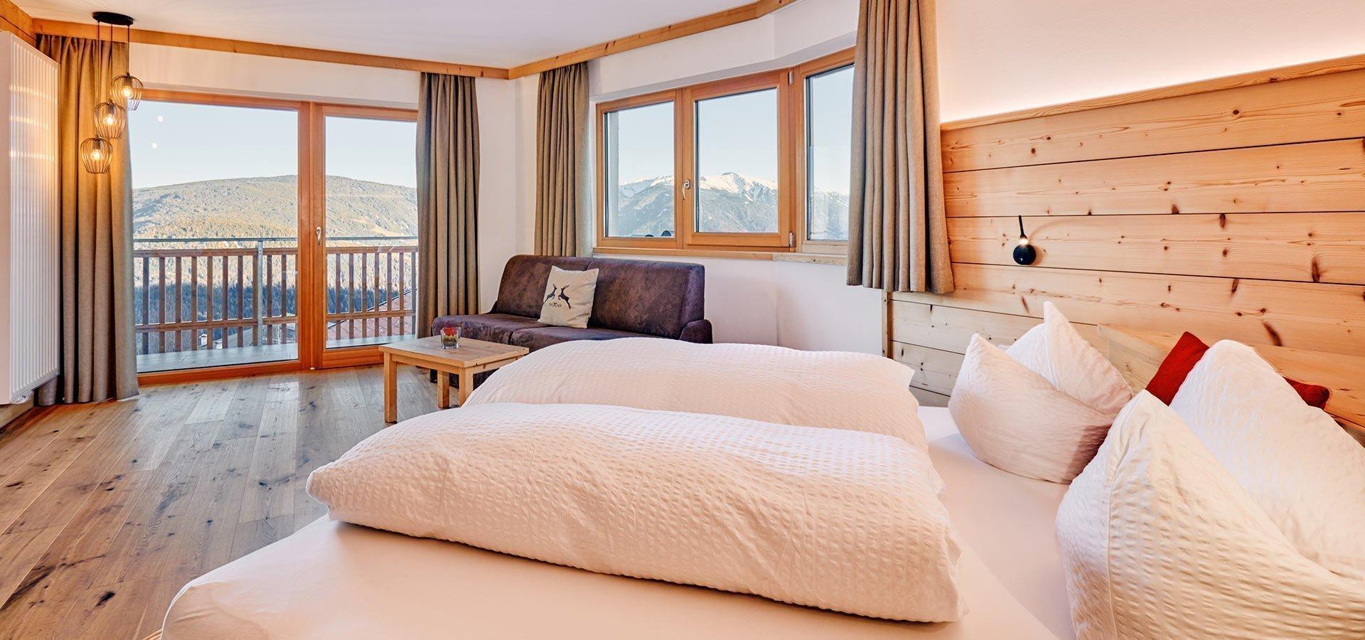 Panoramazimmer | Hotel Kristall Südtirol