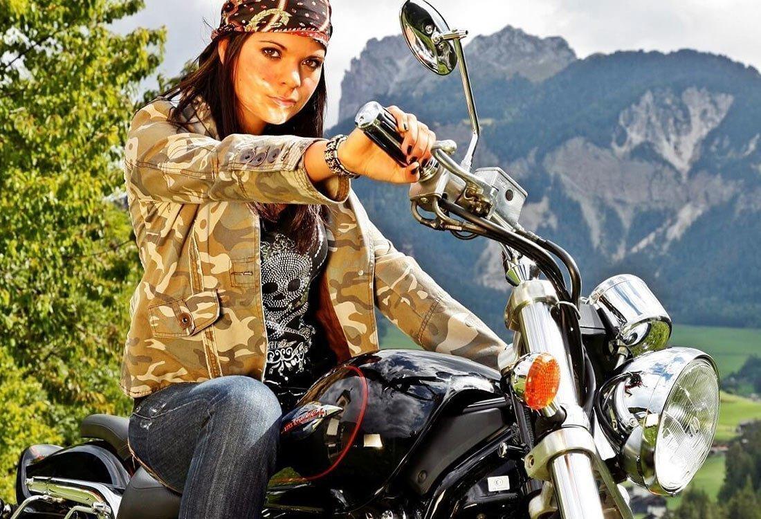 Urlaub mit Motorrad im Hotel Kristall