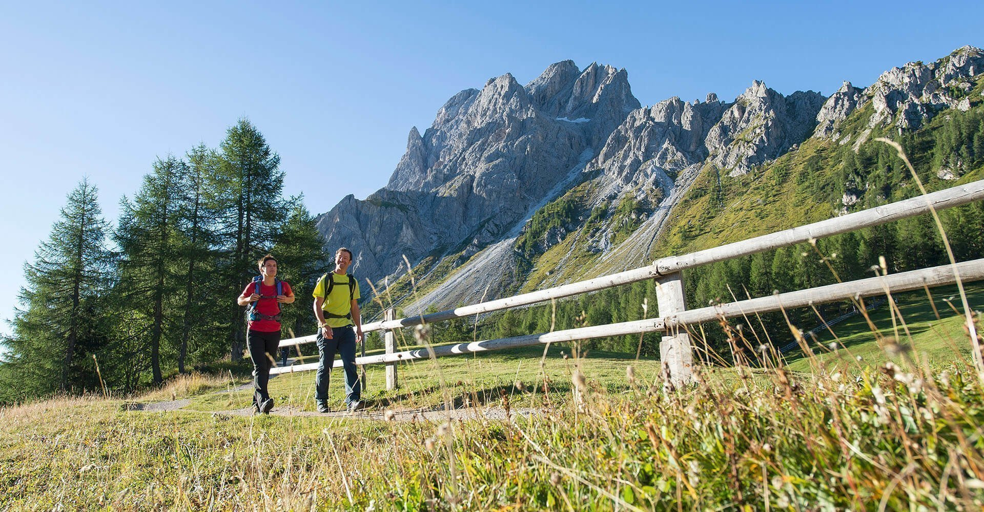 Hotel Kristall | Wanderurlaub in Meransen | Nordic Walking & Mountainbike