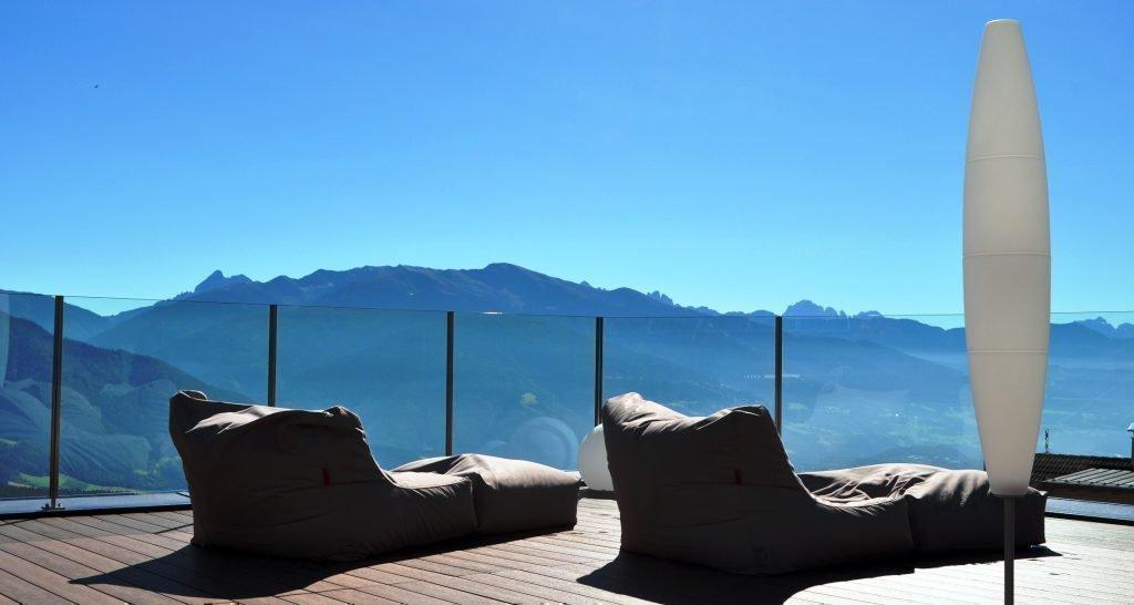Top Ausblcick auf die Dolomiten